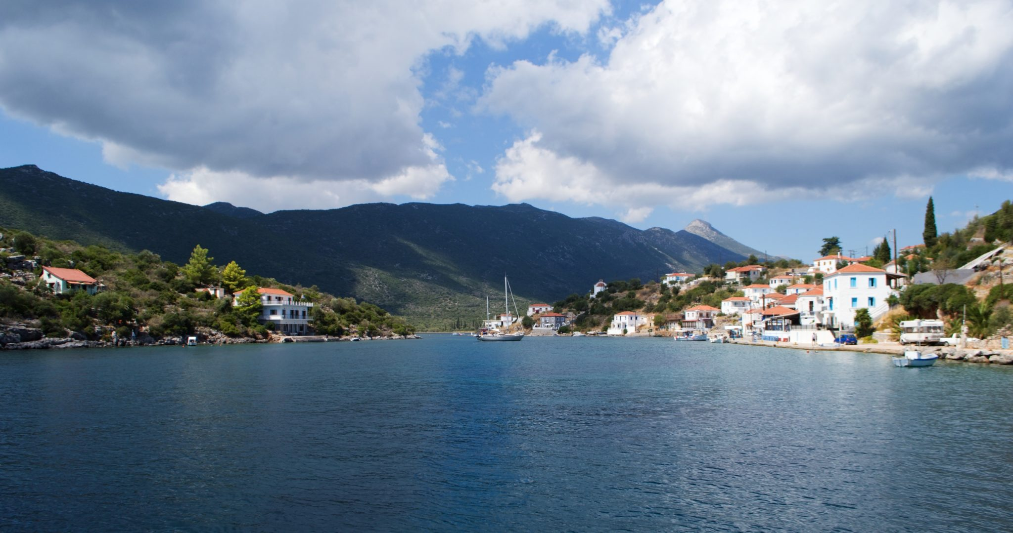 Port of Geraka, Peloponnese, Greece